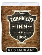 The Tunnicliff Inn - Cooperstown Duvet Cover