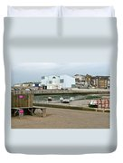 The Turner Contemporary Gallery - Margate Harbour Duvet Cover