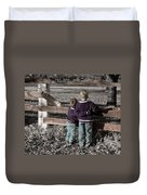 The Twelve Gifts Of Birth - Compassion 1 Duvet Cover