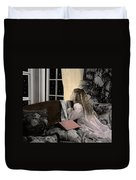The Twelve Gifts Of Birth - Wisdom 1 Duvet Cover
