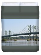 The Twin Bridges Duvet Cover