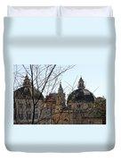 The Twin Churches Duvet Cover
