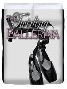 The Twirling Ballerina Cover Art Duvet Cover
