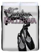 The Twirling Ballerina Cover Art Duvet Cover