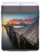 The Twisted Pier Duvet Cover