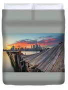 The Twisted Pier Panorama Duvet Cover