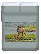 The Two Of Us Duvet Cover