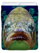 The Ugliest Fish Ever Duvet Cover