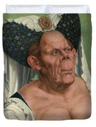 The Ugly Duchess, By Quentin Matsys Duvet Cover
