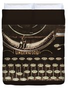 The Underwood Duvet Cover