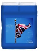 The Flag Of Great Britain Duvet Cover