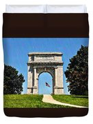 The Valley Forge Arch Duvet Cover