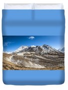 The Valley Leading To Mt Everest In Nepal Duvet Cover