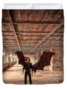 The Vampire Abode Duvet Cover