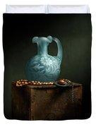The Vase Duvet Cover by Cindy Lark Hartman