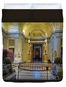 The Vatican Museum In The Vatican City Duvet Cover