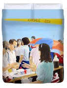 The Vendor Duvet Cover