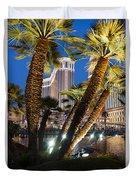 The Venetian Hotel And Casino Las Vegas Duvet Cover