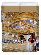 The Venetian Hotel Lobby Duvet Cover