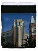 The Venetian, Las Vegas Duvet Cover