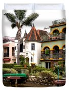 The Venice Canal Historic District Duvet Cover