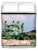 The Victors Duvet Cover