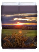 The View From Up Here Duvet Cover by Viviana Nadowski