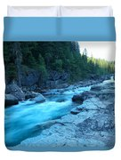 The View Of A River Duvet Cover