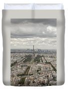 The View Of The Tower Duvet Cover