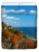 The View - Scarborough Bluffs Duvet Cover