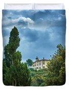 The Views From The Boboli Gardens Duvet Cover