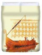 The Viking Ship Duvet Cover