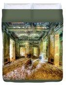 The Villa Of The Boat In The Antique Salon - La Villa Della Barca Nell'antico Salone Duvet Cover