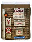 The Vineyard Duvet Cover by Joann Vitali