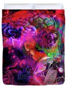 The Violent Mind Duvet Cover