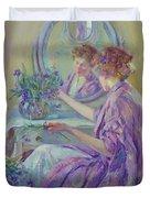 The Violet Kimono 1911 Duvet Cover