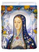 The Virgin,  Joseph Stella Duvet Cover