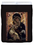 The Virgin Of Vladimir Duvet Cover