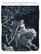 The Vision Of Death Duvet Cover