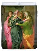 The Visitation Duvet Cover