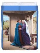 The Visitation Duvet Cover
