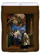 The Vocation Of Saint Aloysius Gonzaga Duvet Cover