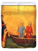 The Vocation Of The Apostle Peter Fragment 1311 Duvet Cover