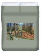 The Walk In The Woods Duvet Cover
