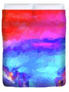 The Walkabouts - Sunset In Chinatown Duvet Cover