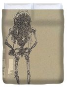 The Walking Dead Duvet Cover by Reed Novotny