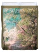 The Walkway Of Forgotten Dreams Duvet Cover