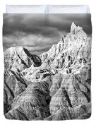 The Wall Black And White Duvet Cover