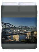 The Walnut St. Bridge Duvet Cover