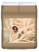 The Wandering Ladybug Duvet Cover